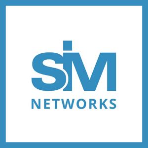 Sim-networks logo.