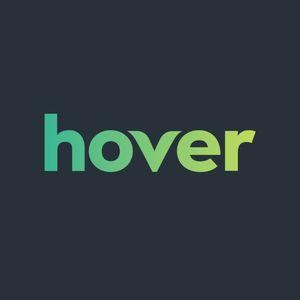 Hover domain registrar logo.